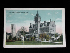 1920's St. Mary's College Dallas TX post card