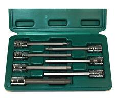 "ATD 7pc Metric Extra Long Hex bit Socket Set, 3/8"" dr, Lifetime Warranty! #13787"