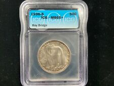 1936-S Bay Bridge Commemorative ICG MS65+