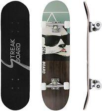 78 cm Cruiser Skateboard Komplettboard mit ABEC-7 Kugellager 50mm 85A PU-Rädern