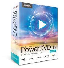 CyberLink PowerDVD 17 Standard  EAN 4711162038706  Film- und Medienplayer
