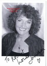 LOUISE JAMESON   Actress    DR Who   Bergerac   Tenko  HAND SIGNED B/W Photo