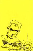 GREEN LANTERN HAL JORDAN ORIGINAL ART JUDD WINNICK DC COMICS 11 X 17