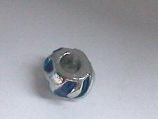 Großlochperlen Emaille Königsblau European Perlen