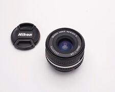 Excellent Nikon Series E 28mm f/2.8 Wide Angle Lens Prime Ai-S (#4781)