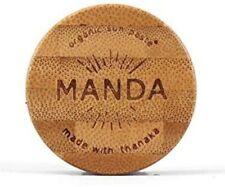 MANDA ORGANIC SUN PASTE SPF 50 THANAKA 40G/ 1.41 OZ NEW BOX NATURAL USA