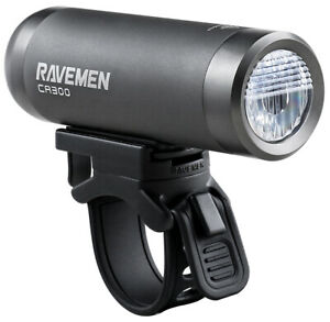 Ravemen CR300 USB Rechargeable DuaLens Bike Front Light With Remote   300 Lumens