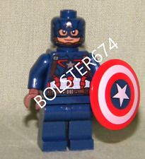 CAPTAIN AMERICA Lego Mini-Figure Loose 76032 76051 Super Hero Marvel Avengers