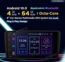 AUTORADIO GPS Audi A3 Android 10 4GB RAM 64GB ROM 8CORE WiFi 4G XTRONS IB80A3AL