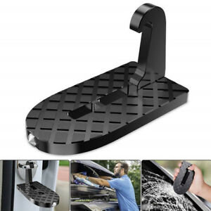 Multifunction Car Doorstep Door Latch Hook Pedals Folding Step Foot Pedal Ladder