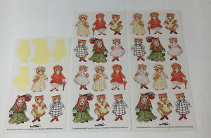 Rare Vintage Kitty Cucumber Stickers 29 Total 1985 Merrimack