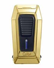 Colibri LI970C6 Quantum Inline Triple Flame Cigar Lighter Gold Pouch