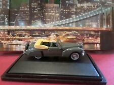 Oxford HO Scale/ 1:87 Lincoln Continental 1941. Pearl Grey. New.