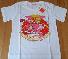 Japan exclusive SAILOR MOON shirt size 6 kids youth anime chibi Bandai new otaku