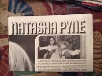 m12n ephemera 1970 film article actress natasha pyne