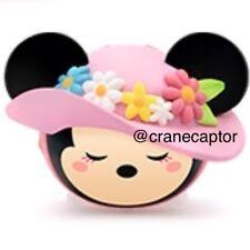 New listing New Disney Tsum Tsum Spring Minnie Mouse Arcade Keychain Strap Figure Toy Japan