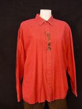 Gr.L 41/42 Trachtenhemd Hemd klassischer Kragen Baumwolle mit Stickerei TH116