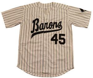 US SELLER Jordan #45 Birmingham Barons Baseball Men Jersey Stitched