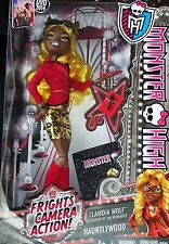 MONSTER HIGH * CLAWDIA WOLF * FRIGHTS -CAMERA -ACTION - HAUNTLYWOOD. 2013