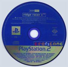 RIDGE RACER V 5 Ps2 Versione Promo Europea gioco completo »»»»» SOLO DISCO