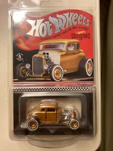HOT WHEELS RLC COLLECTORS 32 FORD HOT ROD 853/17500 LOW SERIAL NUMBER FREE SHIP!