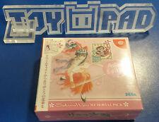 Sakura Wars Memorial Pack [NTSC-J] Japan Jap Sega Dreamcast NEUF NEW