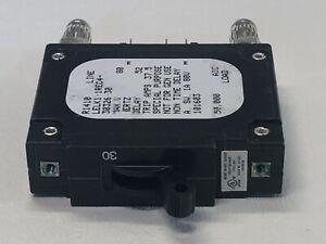 New Sensata Airpax 30a DC Circuit Bullet Breaker 1 Pole LELK1-1REC4-30326-30