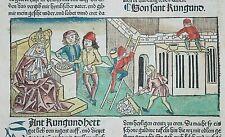 INKUNABEL,VORAGINE,DER HEILIGEN LEBEN WINTERTHEIL,A.KOBERGER,1488,KOLORIERT,4