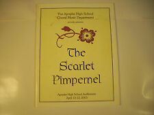 The Scarlet Pimpernel Apopka High School Choral Music Dept GC 142A