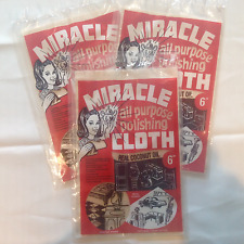 3 Miracle Polishing Cloths, The Homemakers Best Friend Now Made With Coconut Oil