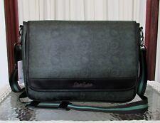 Robert Graham Tenantville Messenger Forest Green Paisley Shoulder Bag NWT $248