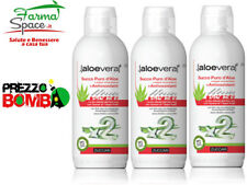 Zuccari Succo Puro con Antiossidanti 3 Confezioni da 1 Litro - Aloe Vera X 2