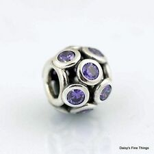 NEW!  AUTHENTIC PANDORA CHARM PURPLE WHIMSICAL LIGHTS  #791153ACZ   P