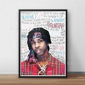 Polo G Poster / Print / Wall Art A5 A4 A3 / Rapper / Hall Of Fame / RAPSTAR