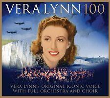 VERA LYNN '100' (Feat. Alexander Armstrong / Aled Jones) CD (2017)
