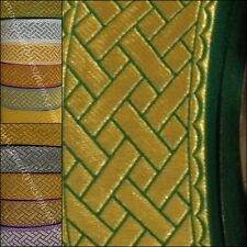 """Church religious  trim  galloon  """"Diagonal"""" 2 1/4""""  6 cm wide many colors"""