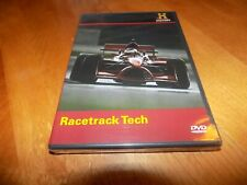 RACETRACK TECH Auto Racing NASCAR Racer Autos Daytona History Channel DVD NEW