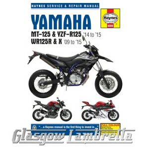 Yamaha Wr Motorcycle Service Repair Manuals For Sale Ebay