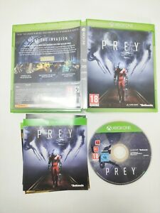 Prey Xbox One Game Excellent Condition Complete With Manual PAL UK
