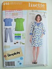 FF Uncut 6-14 Lisette Portfolio Dress Tunic Sewing Pattern Simplicity 2245