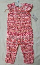 Carter's® Sleeveless Aztec Print Jumpsuit - Baby Girls 6MONTHS