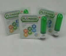 Flonase Allergy Relief 120 Metered Sprays Lot of 3 Exp 8/2020  FREE SHIPPING