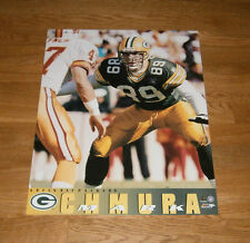 1996 Mark Chmura Green Bay Packers poster 16x20 Super Bowl XXXI mint