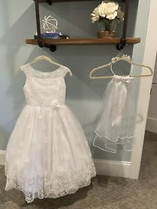 Chasing Fireflies gorgeous first communion dress girls size 8