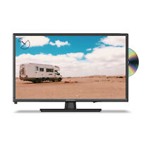 """EMtronics 22"""" Inch Full HD 1080p 12 Volt TV with DVD Player and Satellite Tuner"""