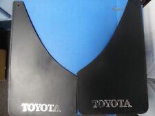 Toyota branded splash guards