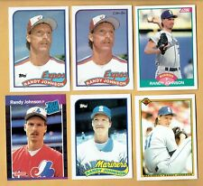 1989  OPC  Randy Johnson  Rookies  6 Different