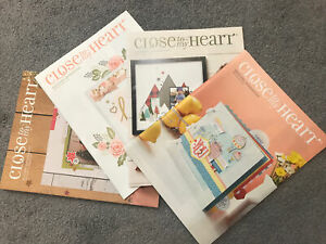 Discontinued New Close To My Heart Catalogs
