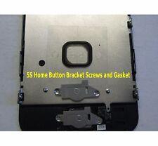 iPhone 5S Home Button Metal Holder Plate Bracket + Screws + Gasket
