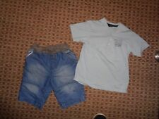 GEORGE-BOYS BUNDLE age 6-7-8 MIXED ITEMS CLOTHES,MULTI,CARGO SHORTS T-SHIRT TOP